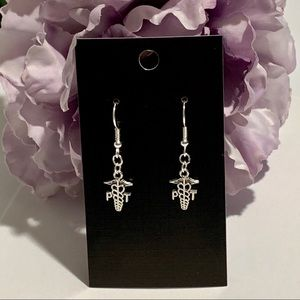PT Physical Therapist Fashion Earrings (small)